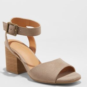 NWT - Women's Micro-suede Heels